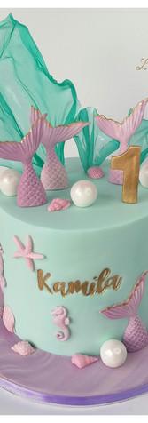 Sirène cake design