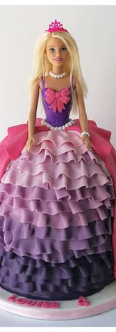 Gâteau Barbie cake design