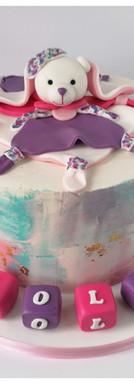 Cake design reproduction de doudou 1 an