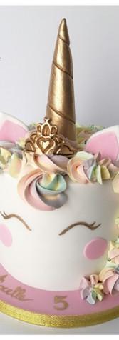 Cake design gâteau licorne