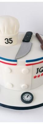 Cake design cuisinier chef