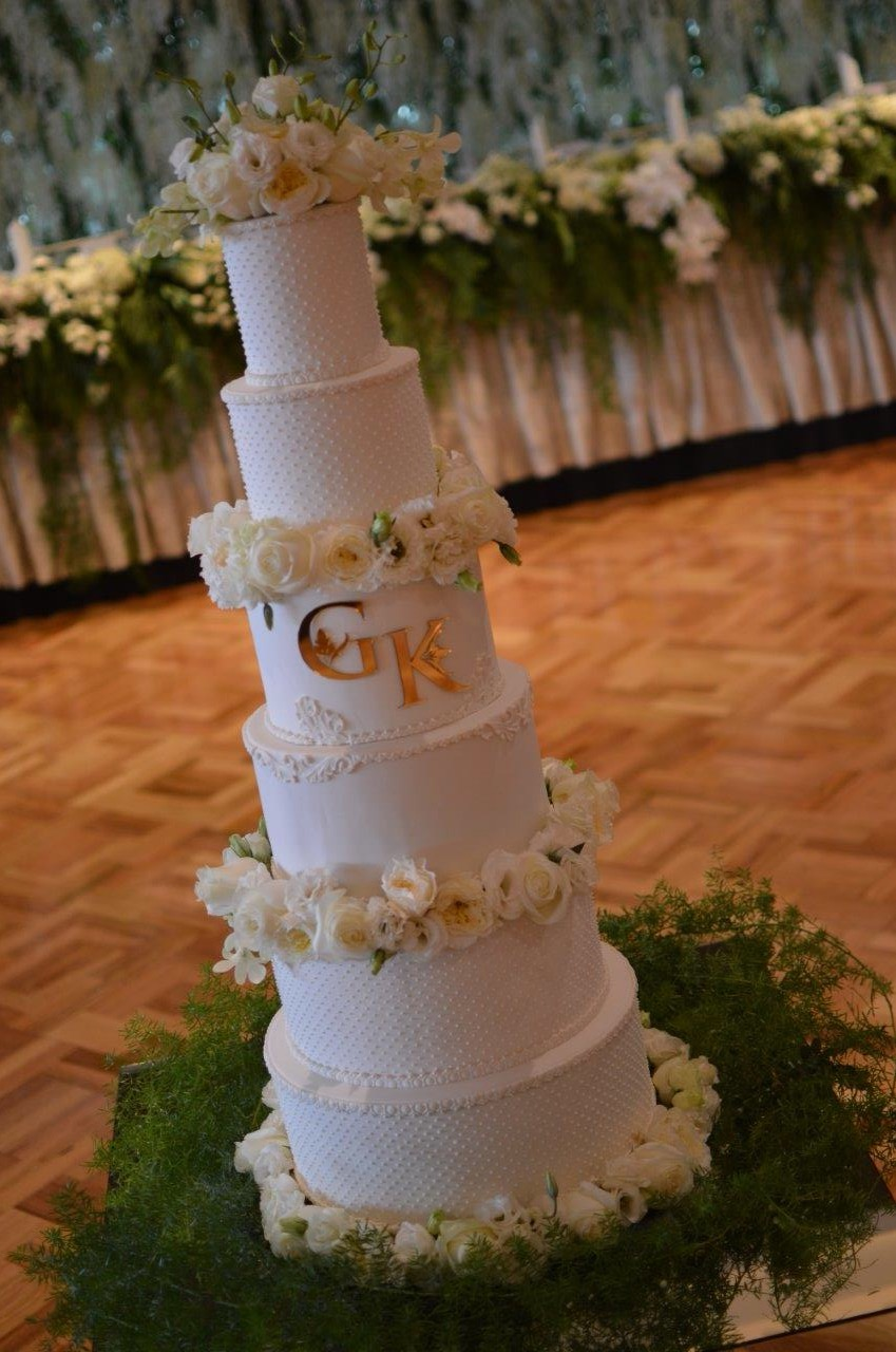 Sydney 6 tier Wedding Cakes