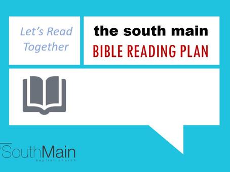 Bible Reading Plan | March 29, 2021