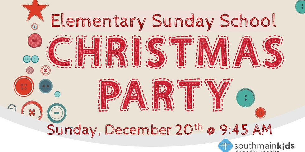 Elementary Christmas Party