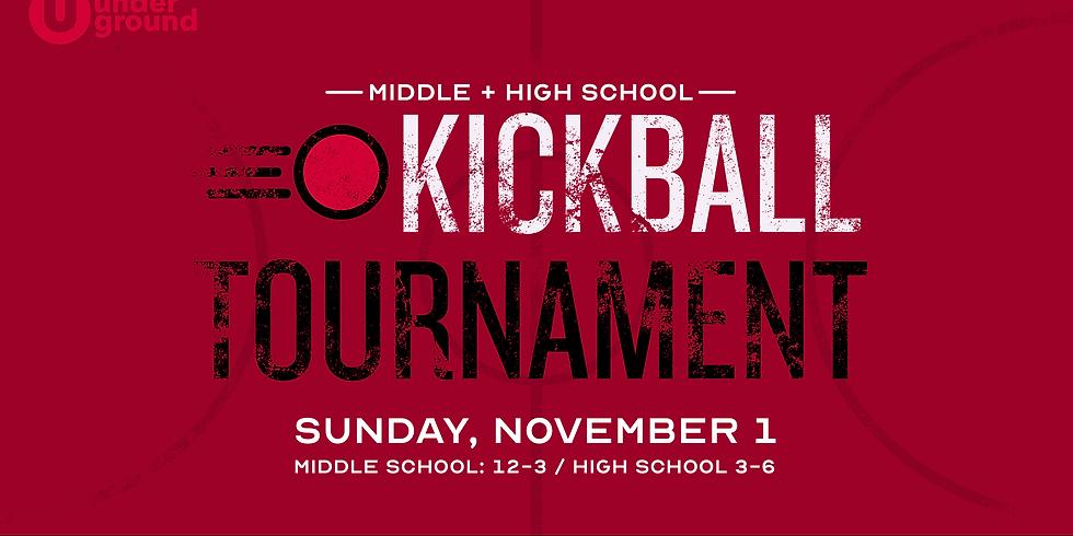 Middle + High School Kickball Tournament