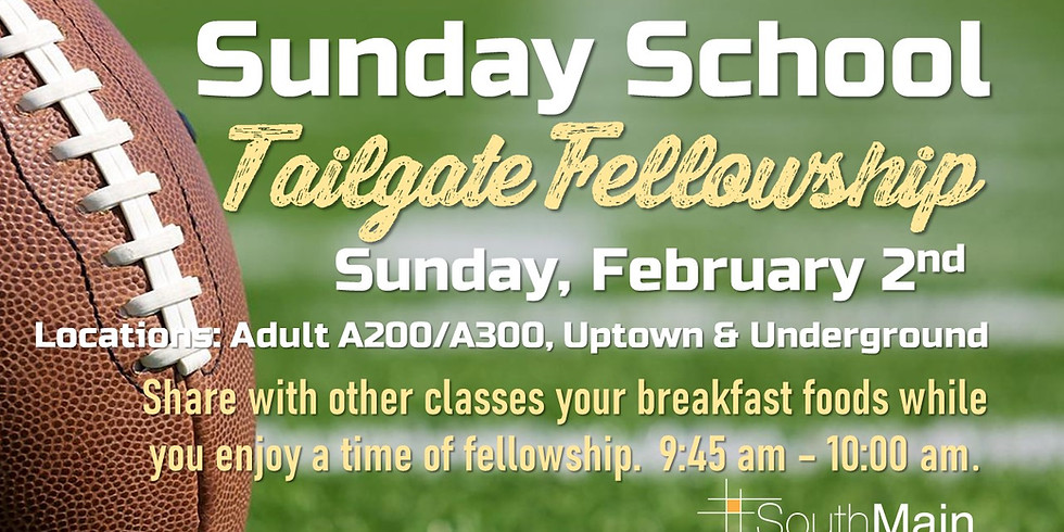 Sunday School Tailgate