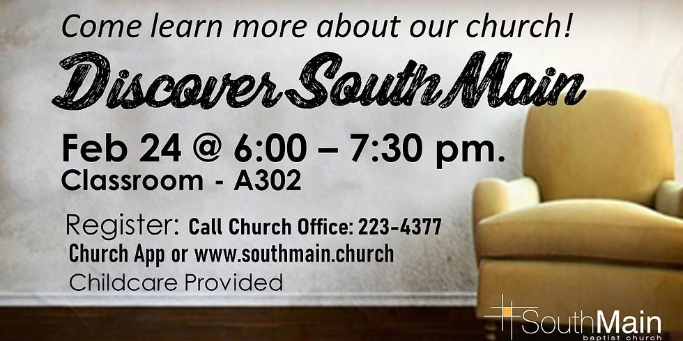 Discover South Main