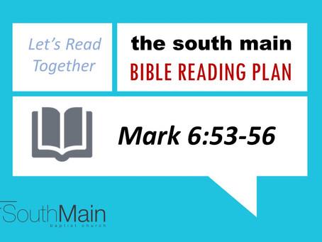 Bible Reading Plan | February 6, 2021