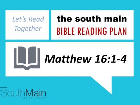 Bible Reading Plan | February 14, 2021