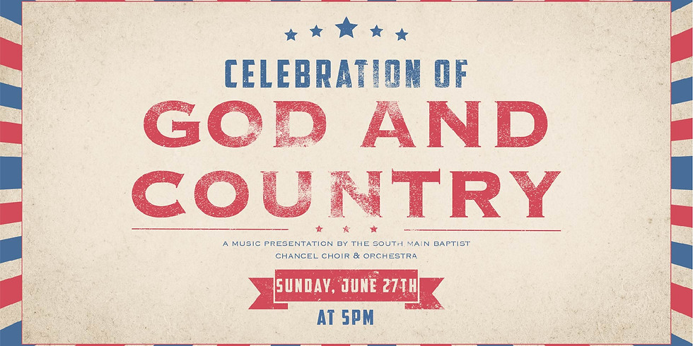 Celebration of God and Country
