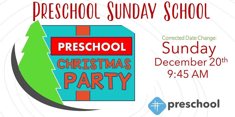 Preschool Christmas Party