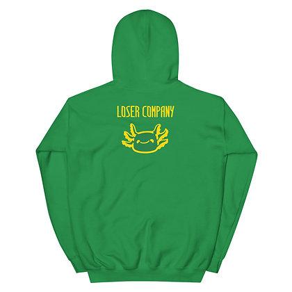 Unisex Hoodie Green Type B (Back)