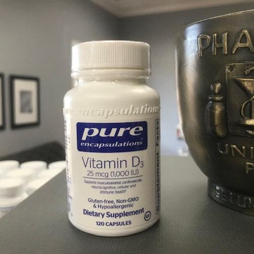 Vitamin D3 (1,000IU)