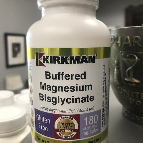 Buffered Magnesium BisGlycinate