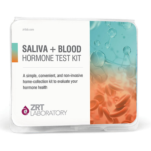 Male comprehensive Saliva and Blood Test Kit