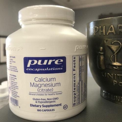 Calcium Magnesium (citrate)