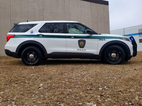 Three Rivers Park Police 2020 Ford PIU