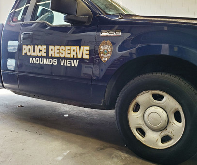 Reserve Truck for Mounds View PD