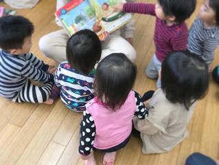 ばなな保育園に乳児さんが(^^)/
