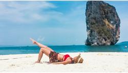 タイのリぺ島で