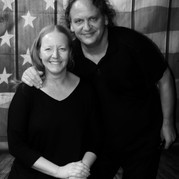Rhonnie & DB American Flag Black & White.jpg