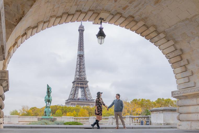 Couple Photo session in Paris