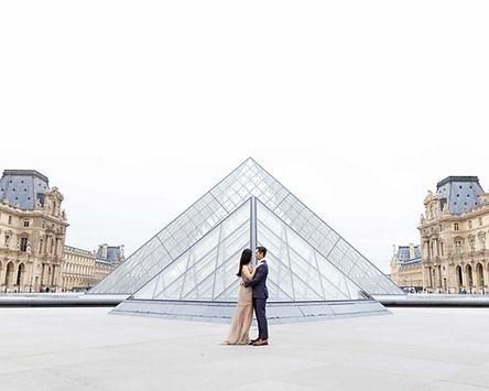 Louvre couple Photoshoot