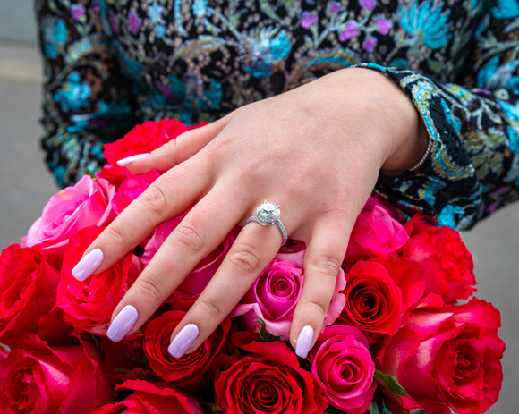 Paris Wedding proposal