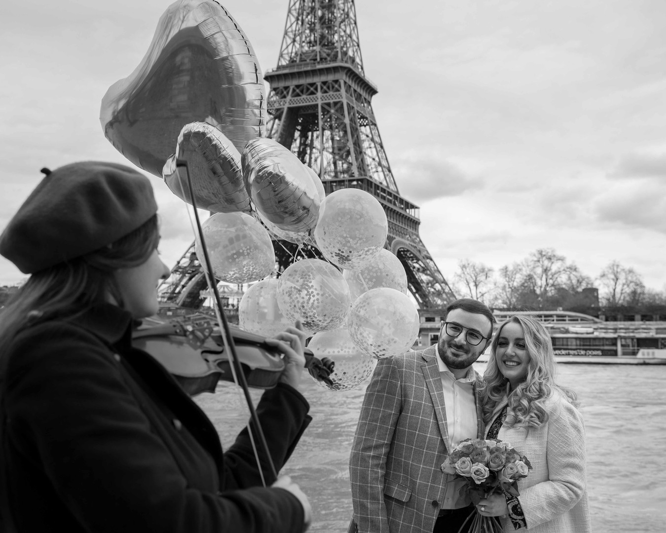 Paris Wedding proposal