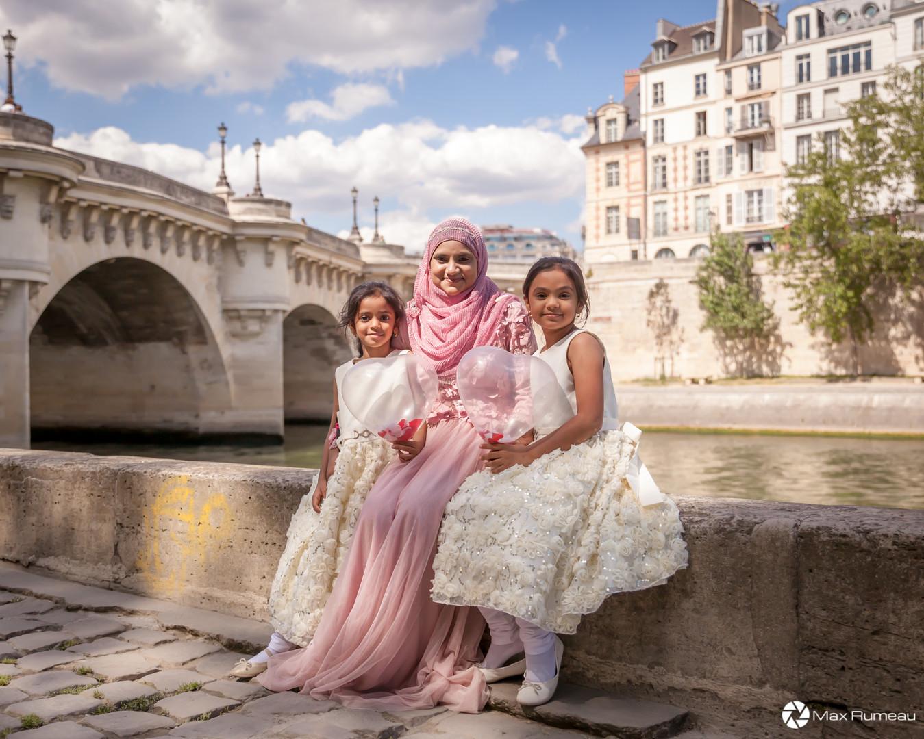 Family Picture in Paris