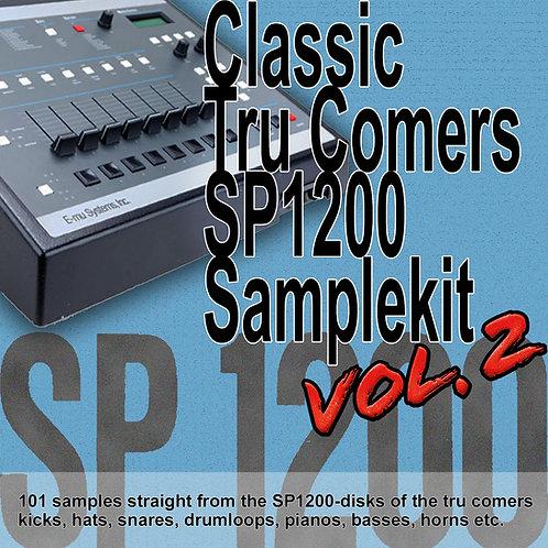 Classic Tru Comers SP1200 Samplekit Vol. 2