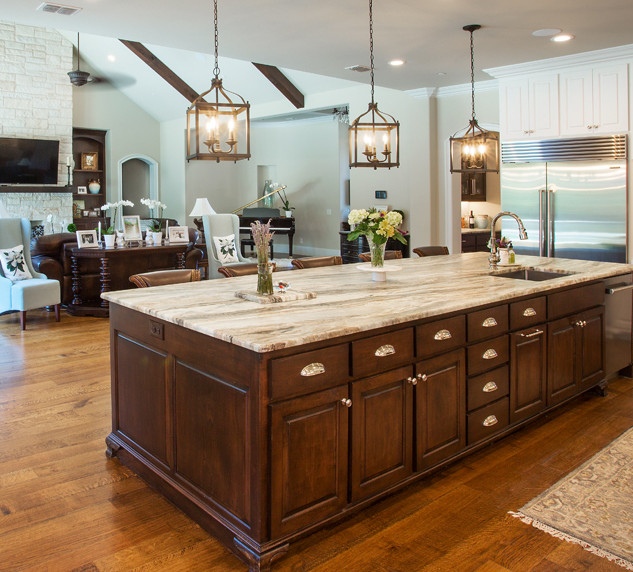 Cresswell Custom Builders Kitchen and Living Room