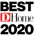 D Home Best 2020 badge