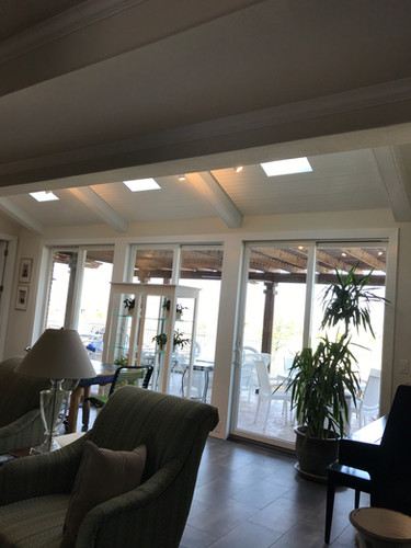 Patio/Skylights