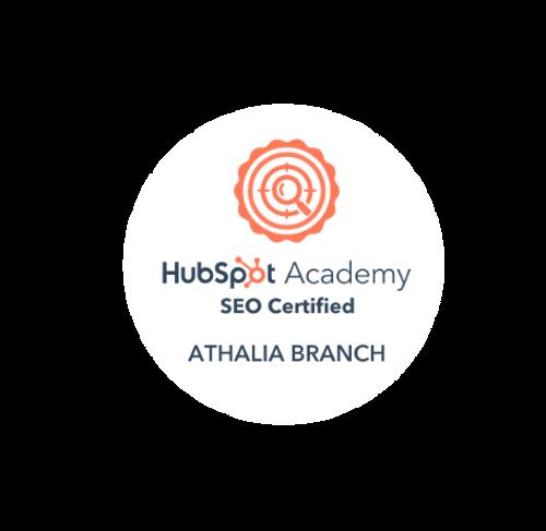 Hubspot Academy SEO Certified