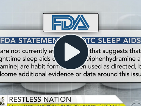 CBS News: Many misuse over-the-counter sleep aids