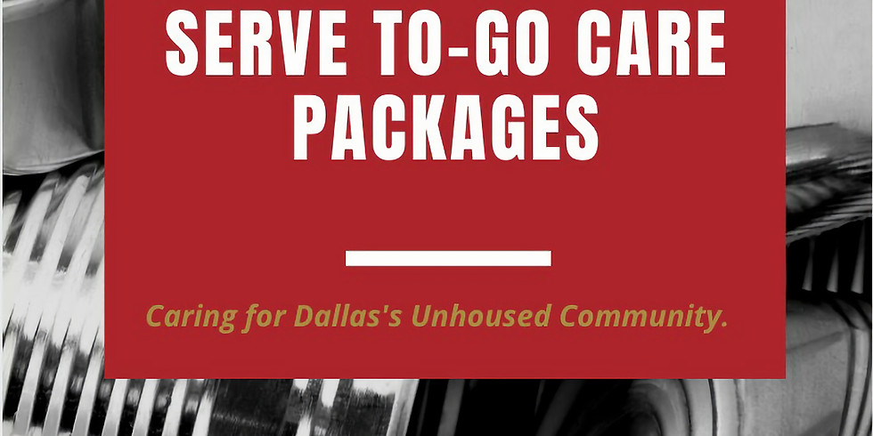 2021 Dallas  Food Drive/ To Go Care Packages