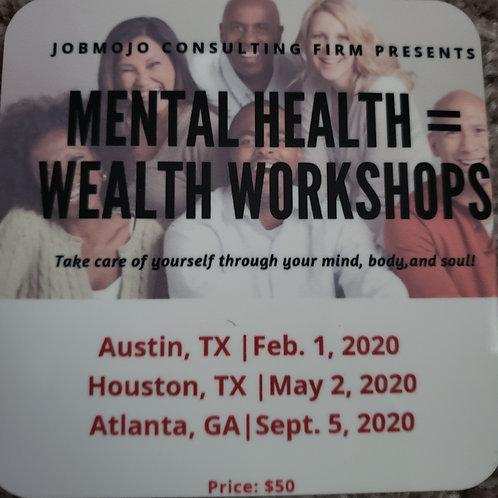 Mental Health =Wealth Coasters