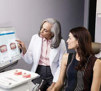 You can view your Invisalign journey on the screen