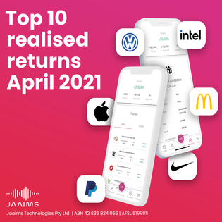 Top ten returns: April 2021