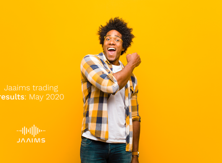 Jaaims Automated Trading: May Results
