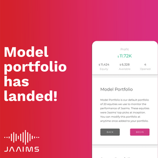 Model Portfolio has landed at Jaaims!