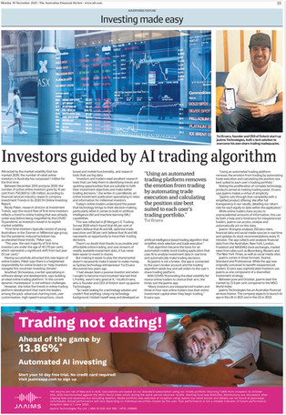Financial Review: Investors Guided by AI trading Algorithm