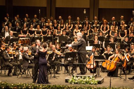 With Maestro Plácido Domingo