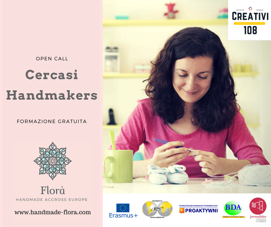 It's time for italian women to take part in the handmade Handmade Thinkers selection By Creativi108.