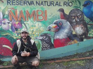 aprendiendo, compartiendo y contribuyendo con FELCA y R.N. Rio Ñambí