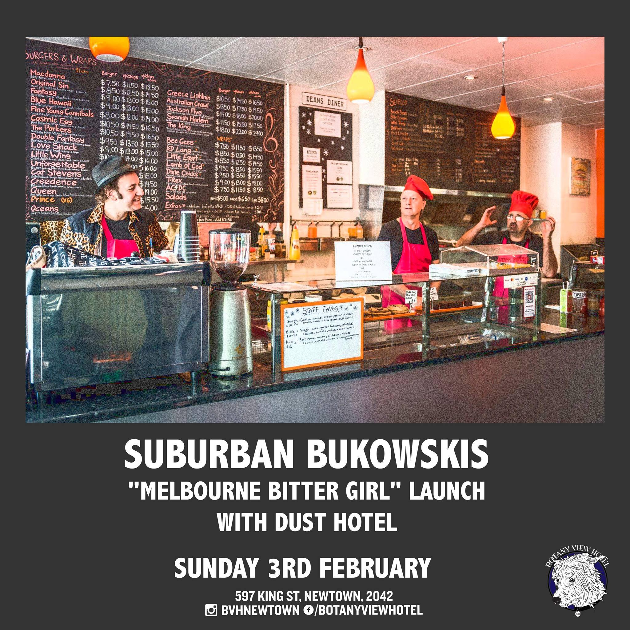 Melbourne Bitter Girl single launch