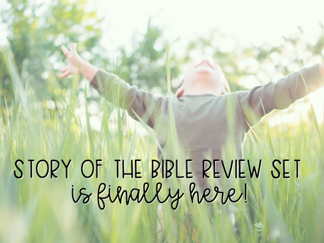 Story of the Bible Review Set
