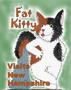 Fat Kitty Visits New Hampshire by Carolyn Cutler Hughes