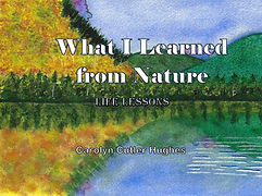 What I Learned From Nature by Carolyn Cutler Hughes
